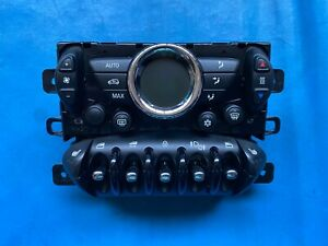 BMW Mini One/Cooper/S Automatic Heater Controls with Heated Seats R57 Cabriolet