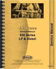Case 930 Tractor Service Manual