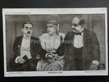 Charlie Chaplin UNREQUITED LOVE Red Letter Photocard c1915 No. D.066285