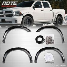 For 2009-2016 Dodge Ram 1500 Factory Bolt  Fender Flares Matte