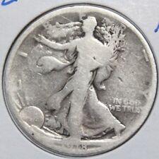 1918-D 50C Walking Liberty Half Dollar - Key Date / Mint - Lot # HDWL 512