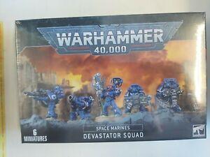 Games Workshop Space Marines Devastator Squad Imperium Warhammer 40k NEW Set