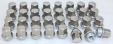 32 New Dodge Ram 2500 3500 Factory OEM Polished Stainless 14x1.5 Lug Nuts Lugs