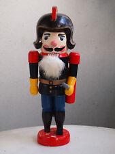 RARITY vintage german nutcracker fire brigade captain,34cm,christmas,collectors