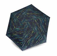 Knirps TS.010 Slim Small Manual Regenschirm Blue Neu