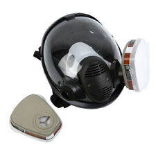 Facepiece Respirator 7 In 1 Full Face Gas Mask Spraying Painting Reusable Safety
