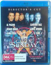 Any Given Sunday 1999 Director's Cut Blu-ray Region Al Pacino Dennis Quaid