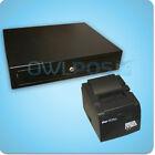 Square Stand Bundle Star TSP100 TSP143U USB Receipt Printer & Cash Drawer Combo
