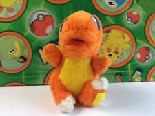 Pokemon Plush Charmander 1997 Stuffed Doll figure Mini Bandai Friends Series Toy