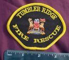 Canada Tumbler Ridge Fire Rescue Patch