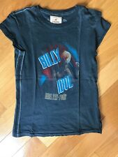 Trunk LTD Billy Idol rebel yell tour Limited Edition tee top shirt s womens rare