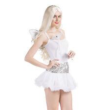 Ladies Sequin Sparkle Princess Tutu Skirt Petticoat Disco Fancy Dress Costume