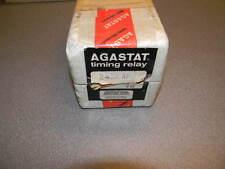 AGASTAT 2412AF Timing Relay, .5 - 10 Min, 120 VAC, 240 VAC 1/4HP Contact Rating