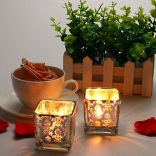 Glass Candlestick Candle Holders Stand Decorations European Style Candles Stands
