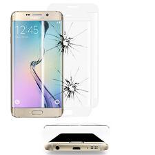 2x Verre Blindé Samsung Galaxy S6 Edge SM-G925F Film de protection complet bord