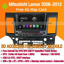 Android Multimedia Player for Mitsubishi Lancer 2006-2012 DVD GPS Navi Radio