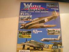 ** Wing Masters n°5 Le Henschel Hs 129-B / Hurricane Mk IIC / F6F-3 Hellcat