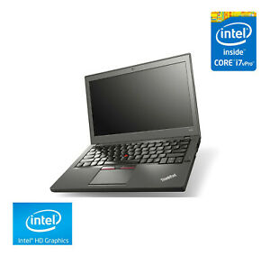 "Lenovo ThinkPad X250 Laptop 12.5"" HD Touchscreen, i7-5600U, 8GB RAM, 256GB SSD"