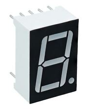"Blue 0.56"" 1 Digit 7 Seven Segment Display Anode LED"