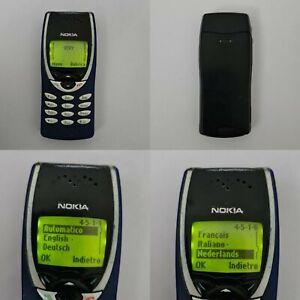 CELLULARE NOKIA 8210 BLU GSM UNLOCKED SIM FREE DEBLOQUE