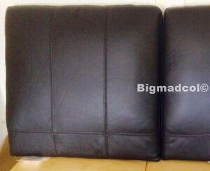 Ikea Stockholm ONE single Brown Seglora Leather Headboard cushion x 1