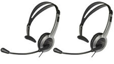 Panasonic KX-TCA430 Over The Head Headset With Noise-Cancelling Feature(2 Pack)