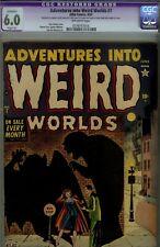 Adventures into Weird Worlds #7-CGC(RESTORED)-1952 ATLAS HORROR
