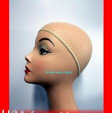 Blond Fashion Hair Wig Weaving Stretchable Net Mesh Fishnet Elastic snood cap