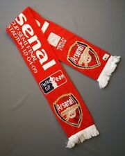 Arsenal Fan Scarf Cup Semi Final Wembley Stadium 2009 Football Soccer Red ig93