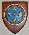 Nederlands Administratief Korps NAK NORTHAG / TWOATAF plaque shield NATO 2ATAF