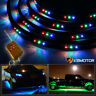 "7 Color LED Under Car Underbody Neon Glow Light Strip Kit+Remote Control 36""+24"""