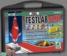 JBL TestLab Koi Testlabor Testkoffer Teich Reagenzien Wassertest  Teich Testset