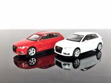 H0 HERPA 028257 Audi A3 (2012) Sportback, billiant red / white (2pc.) 1/87 Scale