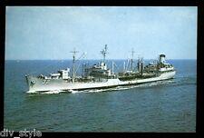 USS Guadalupe AO-32 postcard fleet oiler US Navy ship
