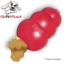 NEW Kong Classic Red Dog Chew Toy. Tough USA made, Recommended by Vets