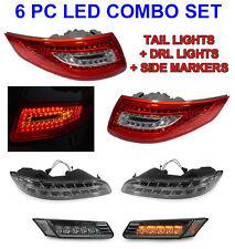 DEPO OEM LOOK 05-08 PORSCHE 911 997 997.1 LED TAIL+BUMPER DRL+SIDE MARKER LIGHT