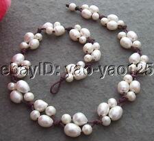Q120606 Excellent! White Pearl Necklace