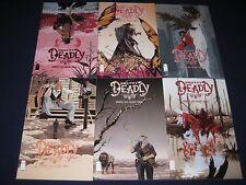 Pretty Deadly 1-10 & Variant #6 Kelly Sue DeConnick Imagine Comics