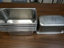 Vollarth Super Pan II,#3036-2,18-8 Stainless Steel,1/3 Size,6.1Qts ,Steam /Hotel