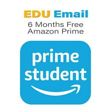 Edu Email 6 Months Free Amazon Prime US Student Email