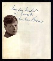 Olga Tschechowa / Christian Doerner  Original Signiert 50er Jahre + G 6976