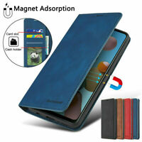 For Samsung S21+ S20 Ultra Luxury Leather Magnetic Flip Wallet Phone Case Cover