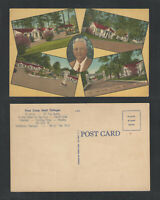 1940s PINES CAMP HOTEL COTTAGES VALDOSTA GEORGIA POSTCARD