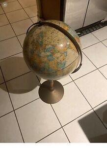 "12"" World Map Globe"