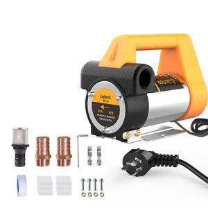 Electric Oil Transfer Pump Auto Kerosene Diesel Pump Reversible Oil Extractors