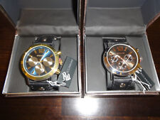 2 Rocawear Fashion Jewelry Stainless Steel Analog Men's Watch