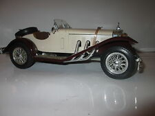 Burago Bburago Mercedes Benz SSK 1928 Metall Modell 3009 Cabrio 1:18 oldtimer