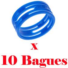 Bague de Répérage Couleur Bleu pour Fiche XLR Neutrik Série XX ref XXR6