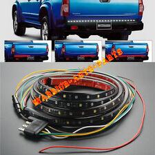 60 in Truck Tailgate Red White LED Light Bar For Reverse Turn Signal Brake Light