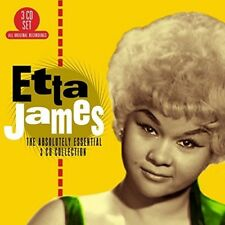 The Absolutely Essential 3 CD Collection [Digipak] by Etta James (CD, May-2017, 3 Discs, Big 3)